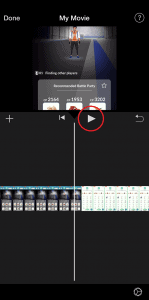 How to Combine iPhone Videos Hit Play