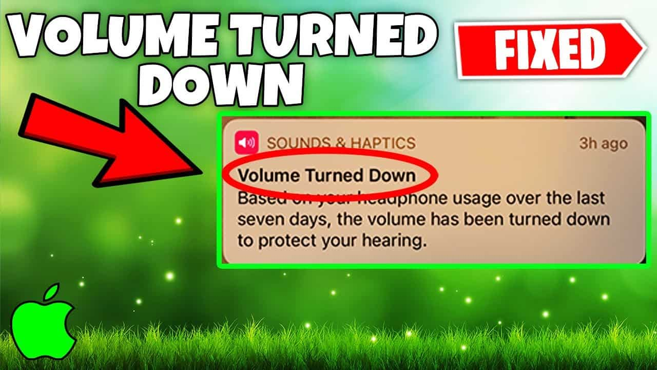 Volume Turned Down iPhone FIX To Listen To Music Without Limits