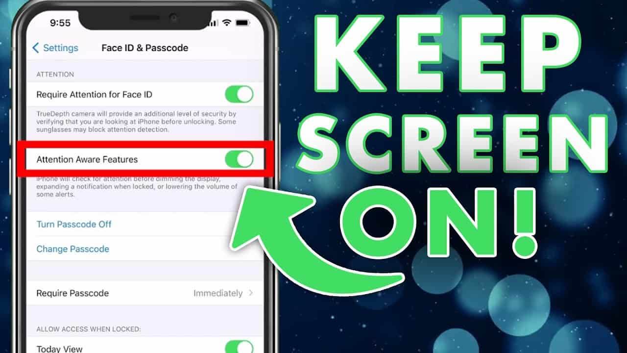 How To Keep iPhone 11 Screen On Longer Without Tapping Screen