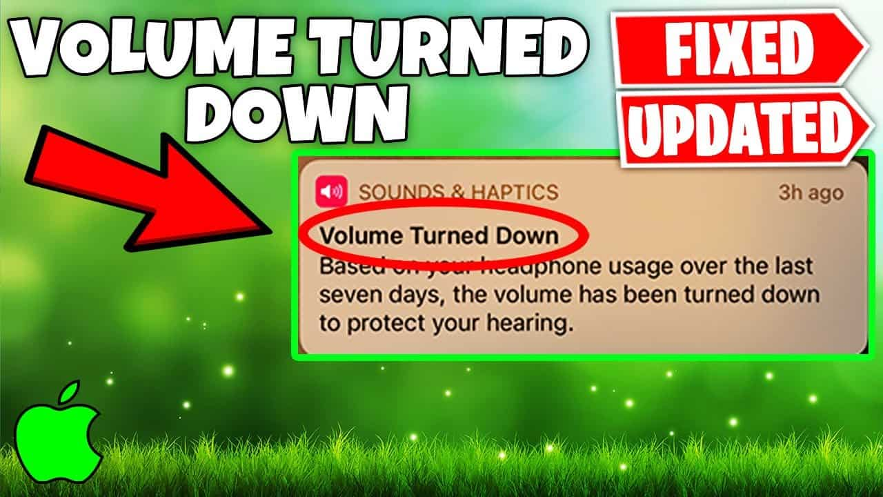 Volume Turned Down iPhone FIX By Tricking Apple
