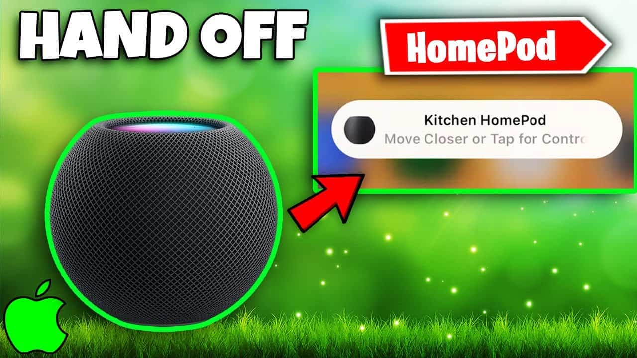 How To Turn Off iPhone Homepod Mini Handoff | Move Closer or Tap For Controls Notification Fix