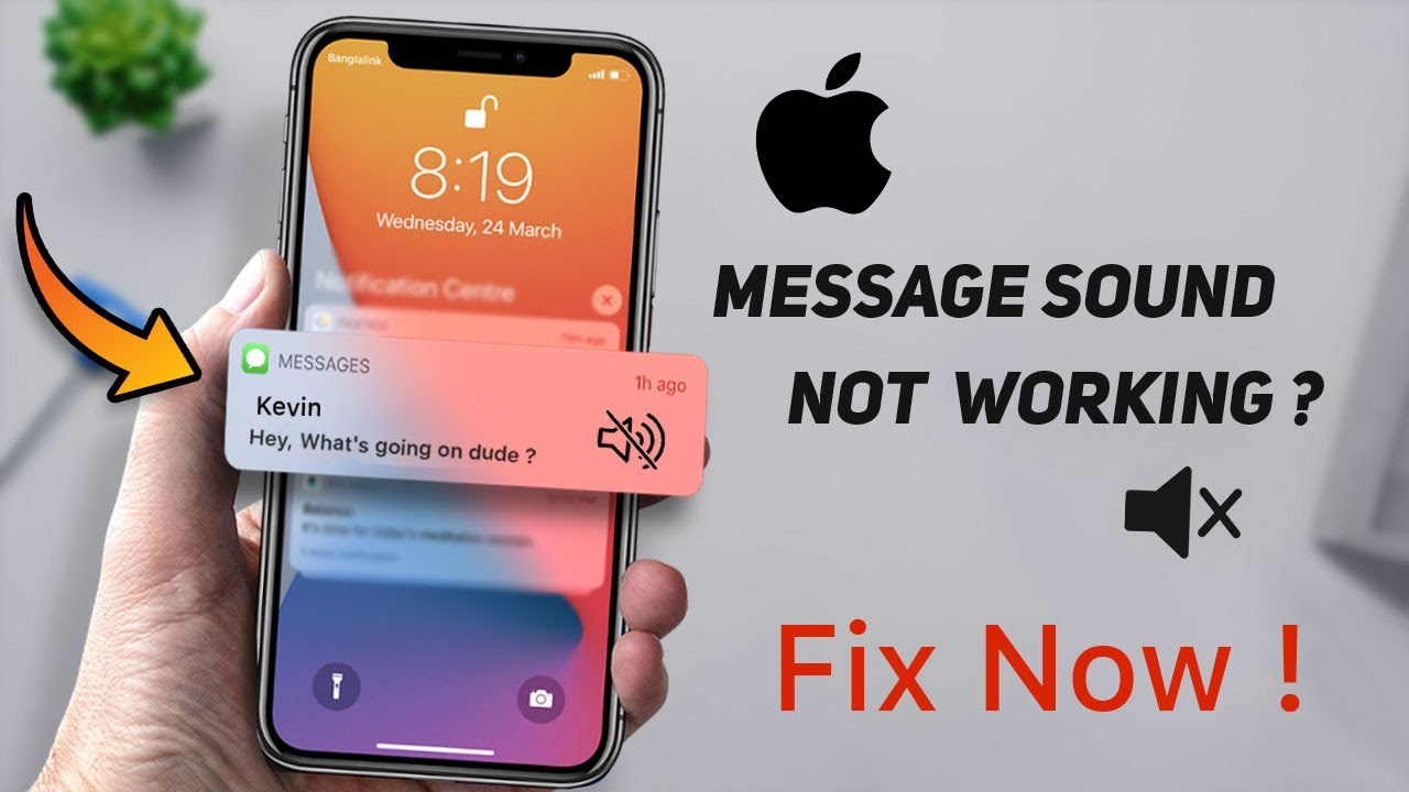 Read more about the article iPhone Message Notification Sound Not Working – Muting Text Conversations FIX