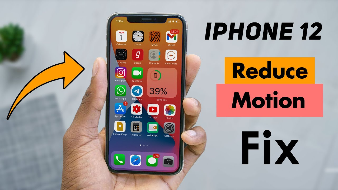 Read more about the article Reduce Motion iPhone   Make Your Phone Less Annoying & Save Battery!